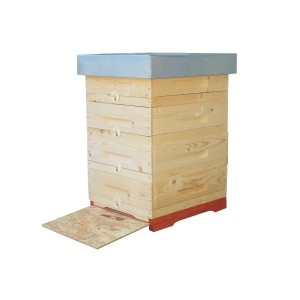 Single-wall multi-body hives