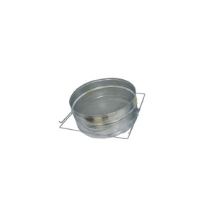 Metal strainers
