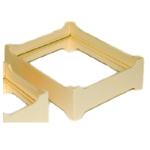 "Sectional frames and ""Bee O Pack"" honey combs"